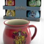 Pack 4 taza espresso Harry Potter