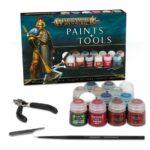 Set de pinturas y herramientas de Warhammer Age of Sigmar